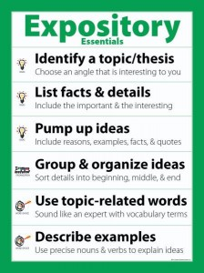 how to write an expository essay net there are three main types of expository essays scholarly writing used mainly for academic purposes which describes or examines a process in a