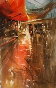 rainy India