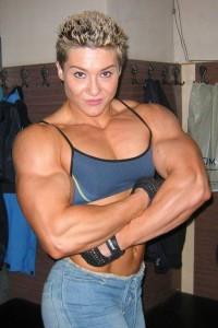 women bodybuilder