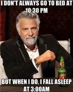fall asleep 3.00 am meme