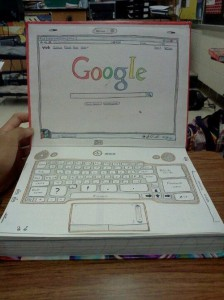 laptop textbook