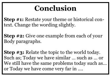 writing conclusions for persuasive essays