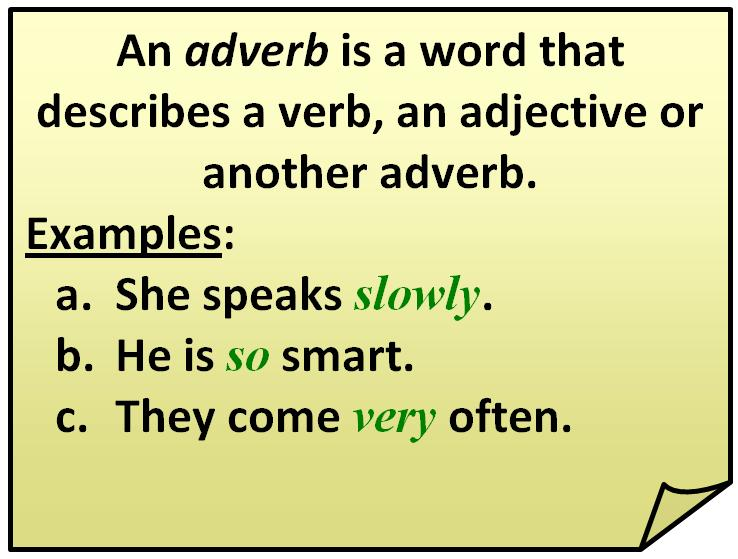 Position Of Adverbs How To Use Academichelp