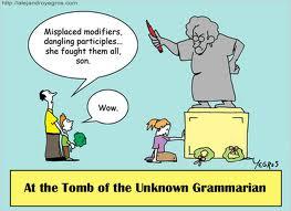 grammar goof