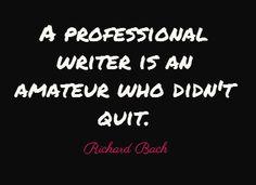 amateur writer