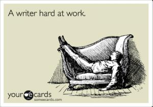 writing laziness