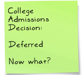 steps for writing a college deferral letter