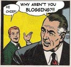 Are you blogging?