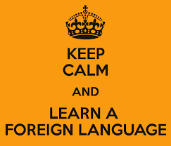 keep calm and learn foreign language