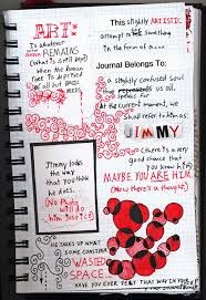 messy idea diary