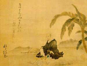 painting of basho