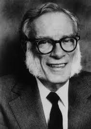 portrait of asimov
