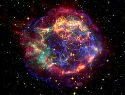 what a supernova might look like