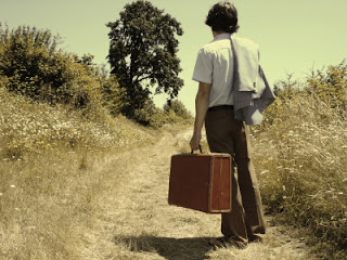 boy moving away from home