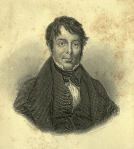 Illustration of Grimaldi from his Memoir.